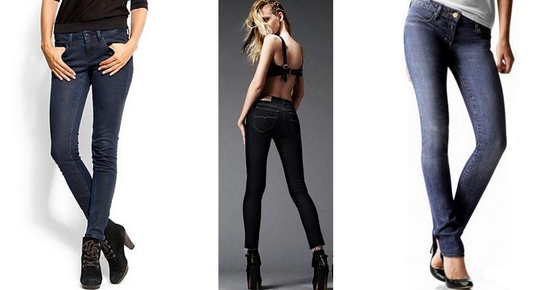 Джинси 2014 - скинни КЛШ капрі Кольори тканини фото модних джинсів ... b02daada14644